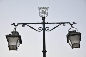 Lampara plaza giraldo Evora