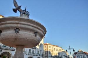 Fuente de la Plaza Giraldo Evora