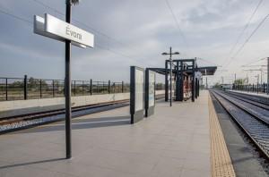 Como llegar a Evora en tren